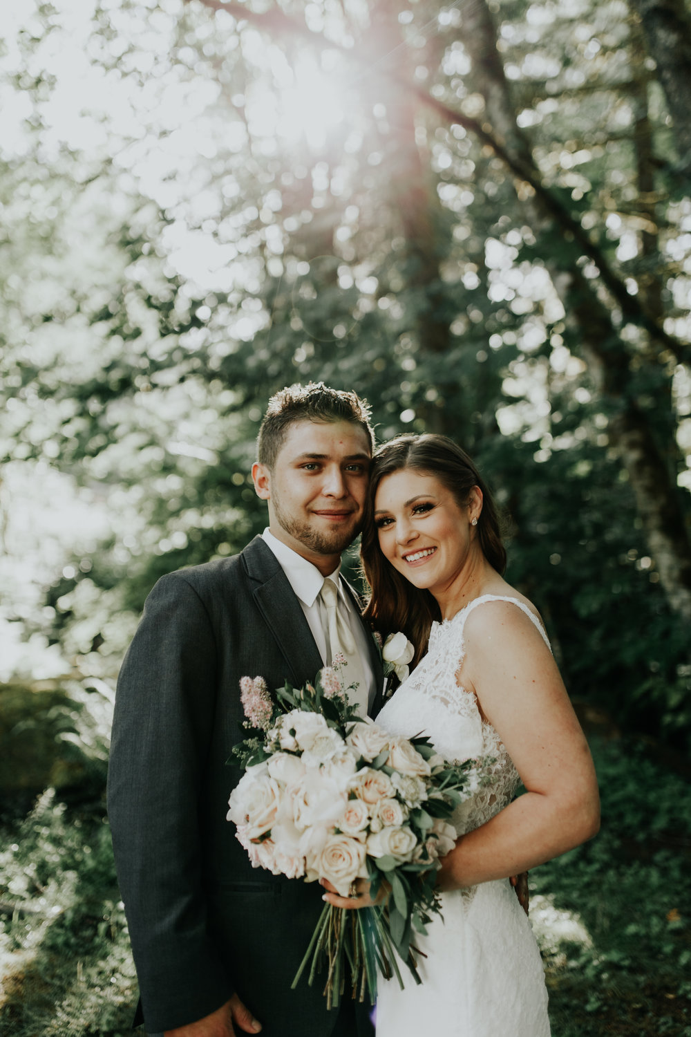 ramirez wedding portland oregon hornings hideout rain moody trendy bride groom