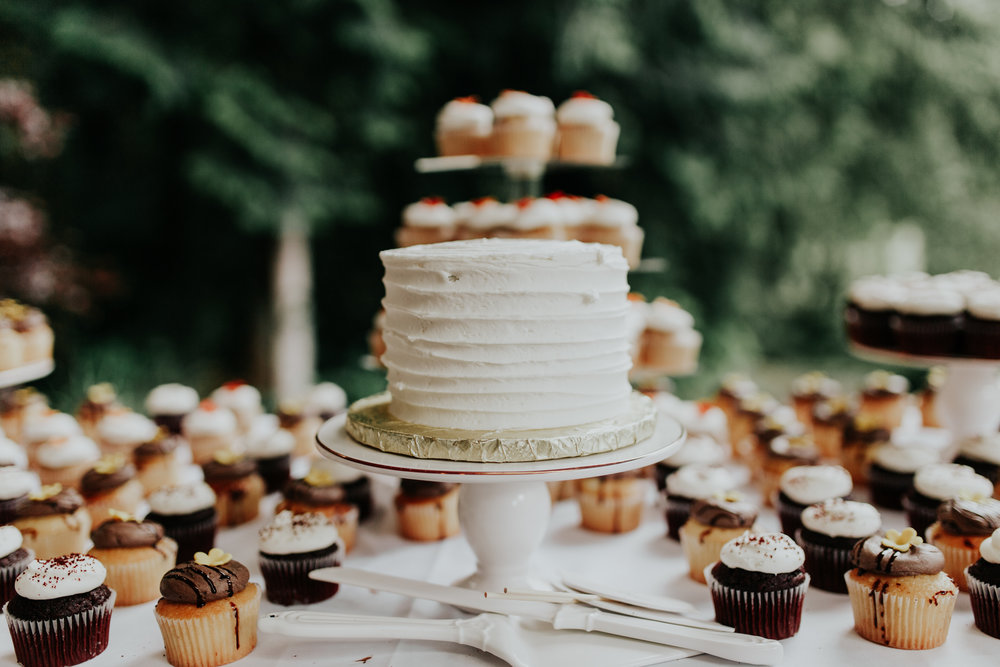 ramirez wedding portland oregon hornings hideout rain moody trendy cake simply sweets