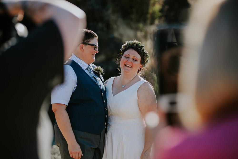 Portland wedding photographer, eclipse wedding, portland photographer, elopement, wedding, queer, LGBTQ wedding photographer, portland engagement ©Jamie Carle Photography | www.jamiecarle.com