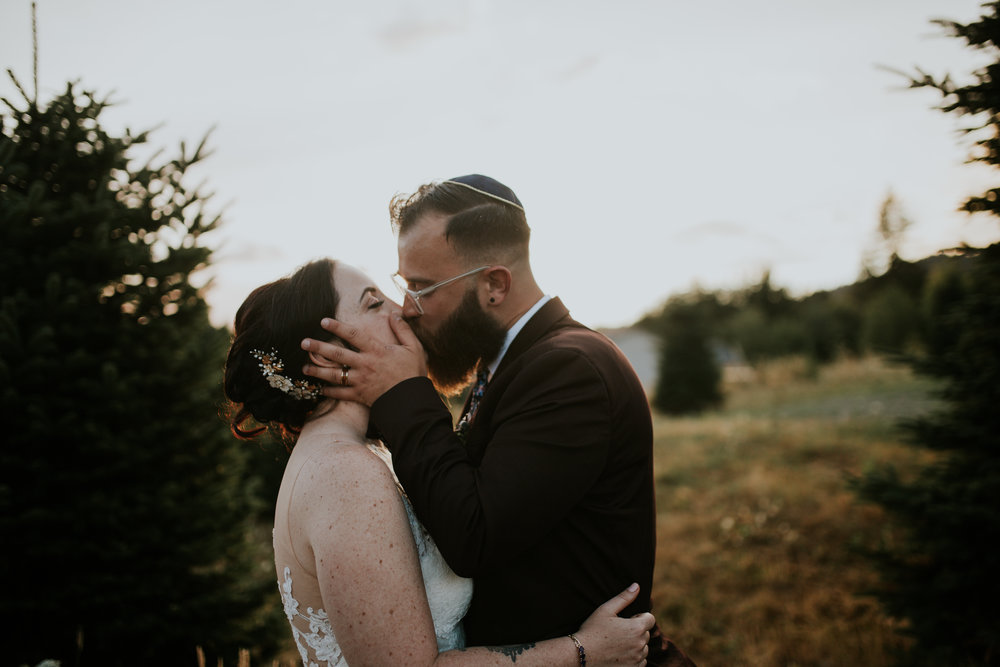 adeline farms wedding ted and lexy gold barn washington woodland portland oregon