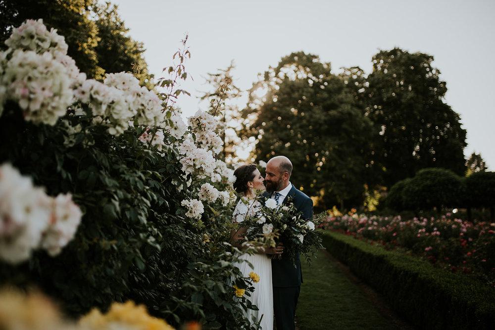 ian tatyana hoyt arboretum peninsula park ne portland oregon elopement wedding jamie carle sunset