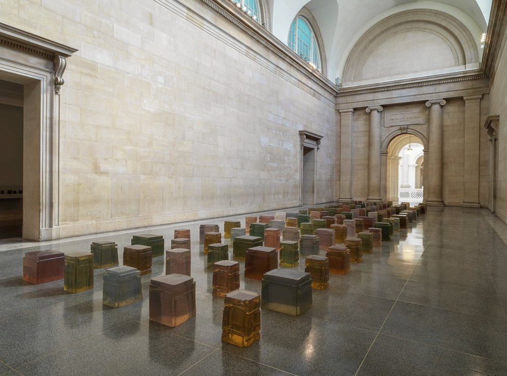 Rachel Whiteread Untitled (One Hundred Spaces) 1995