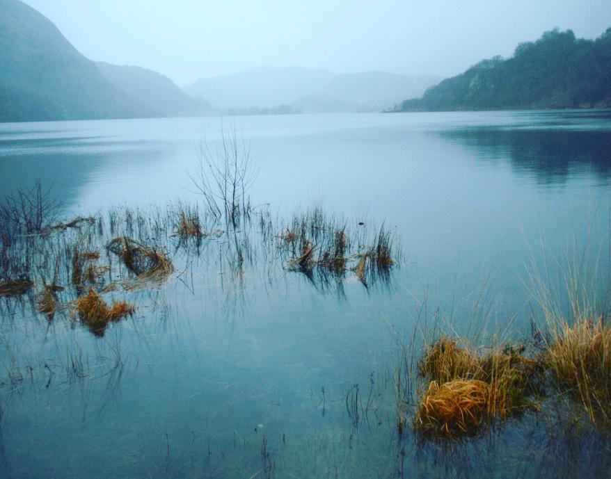 Llyn Dinas, below Dinas Emrys