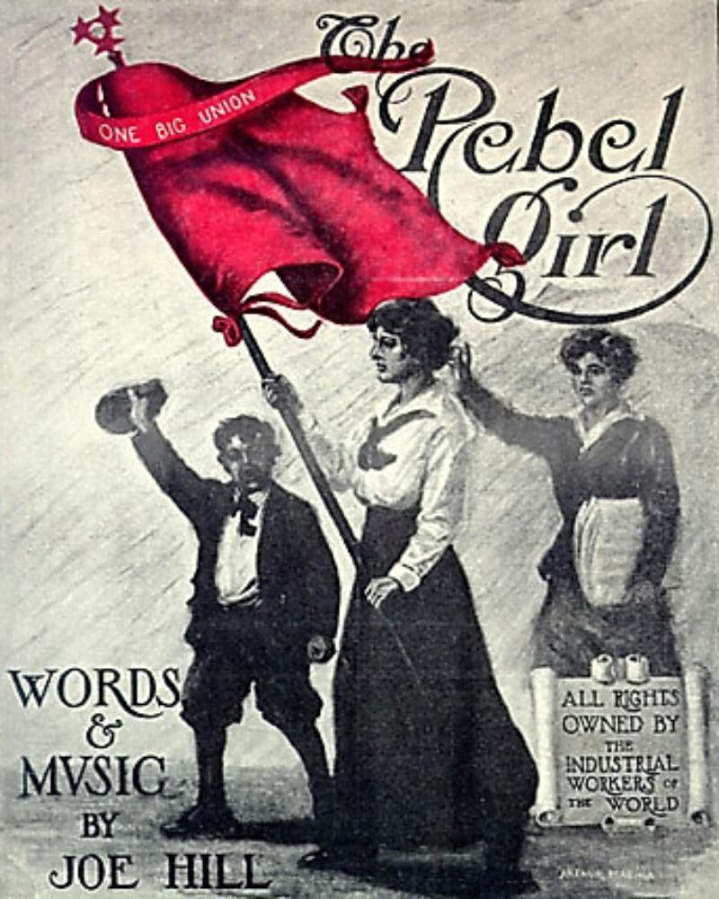 The Rebel Girl, public domain image from Wikimedia Commons