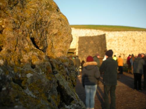 Sunlight on Newgrange
