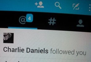 I'm so honored Charlie chose to follow me!