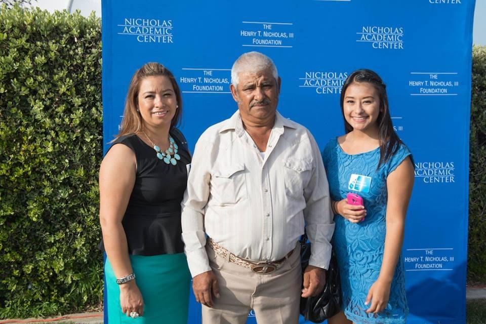 2014 NAC graduate Kimberly Gutierrez & family