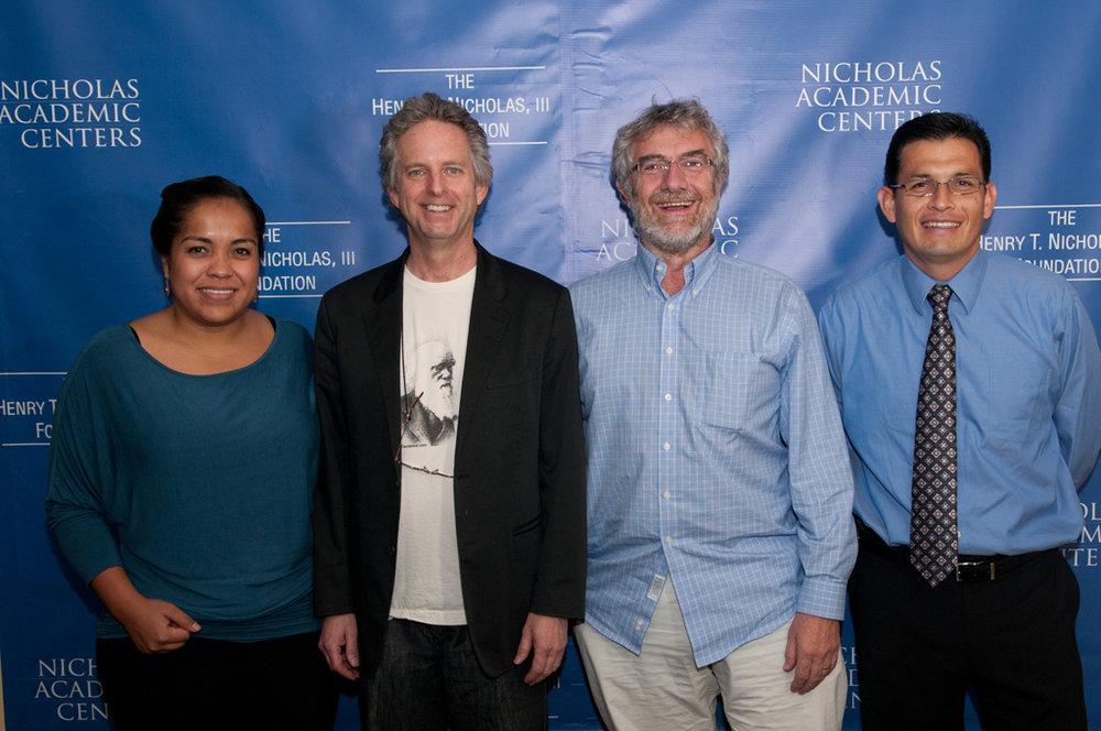 nicholas academic centers and chapman university kick off the 2011-2012 Visting scholar series.