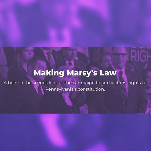 """Making Marsy's Law"" is a podcast that offers a behind the scenes perspective on the crime victims' rights movement in Pennsylvania and across the country. Marsy's Law For All is focused on helping strengthen and protecting the rights of victims. Please tune in and subscribe on any podcast platform or listen here at https://makingmarsyslaw.fireside.fm/  To learn more visit https://marsyslaw.us/ . . . . . #MarsysLawforAllMovement #ML4AMovement #ML4NV #MarsysLawGA #ML4WI #ML4FL #ML4NH #ML4NC #ML4IA #ML4PA #ML4GA #ML4KY #ML4SD #victimsrights"