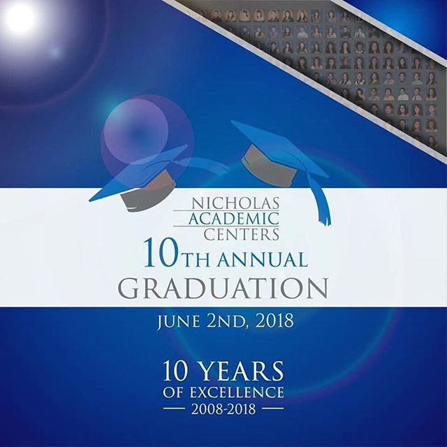 The day is finally here! Tonight we will be celebrating not only the graduating class of 2018, but also the distinguished alumni from the past 10 years and the Nicholas Academic Centers co-founders Dr. Henry T. Nicholas, III and Judge Jack Mandel.  Attending the celebration tonight? Don't forget to hashtag #HTNFoundation and #NACenters in all your pictures. . . #nac #nacalumni #nacgraduation #classof2018 #10yearsofexcellence #celebration #sausd #henrytnicholas #htnfoundation