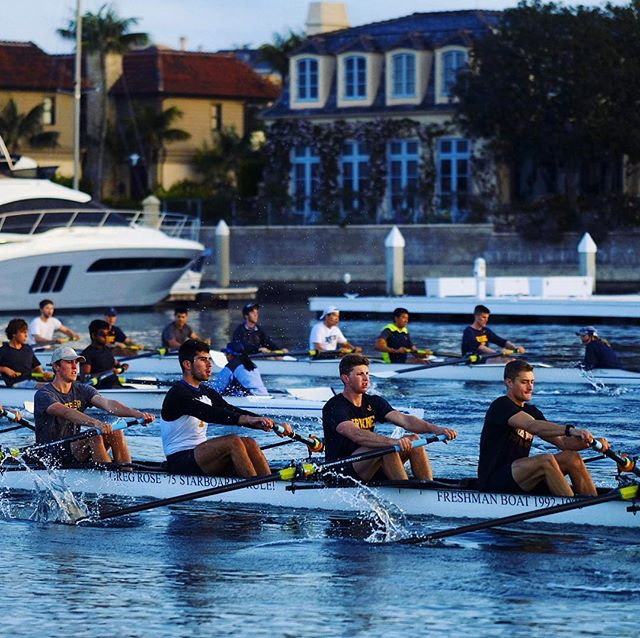 Thanks to a $40,000 donation by UCI rowing supporter Dr. Henry T. Nicholas III, UCI men's and women's crew teams got to compete last month in the 2018 American Collegiate Rowing Association National Championship Regatta in Georgia. The teams – 50 men and women rowers -- turned in a number of stand-out performances:  the varsity men's four [4 to a boat] won their semifinal in the preliminaries and went on to capture third in the Grand Final of 27 in the field. The women's novice 8 won all of their races and the men's novice 8 came in #6 in field of 25.