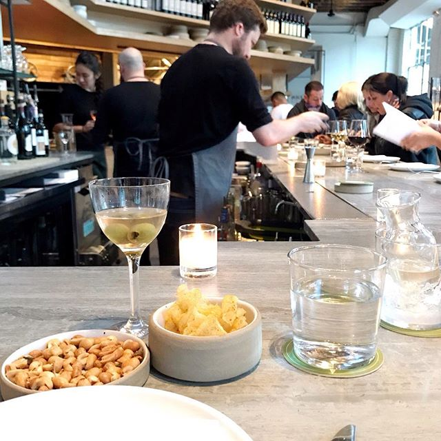 Um. The food and service at Brooklyn's  @lilianewyork was phenomenal. If all I had was a @titosvodka dirty martini and the chili oil chips, I'd still be a happy lady. Thank you for the great experience #lilianewyork #eatinginbrooklyn #brooklynfoodie . . . . . . #hotelier #boutiquehotel #luxurytravel #foodphotography ⠀⠀⠀⠀⠀⠀⠀⠀⠀