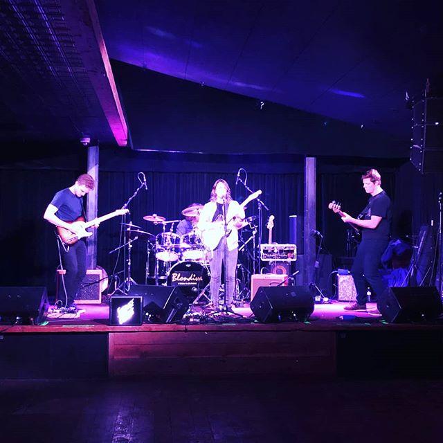 played a fun rock show last week