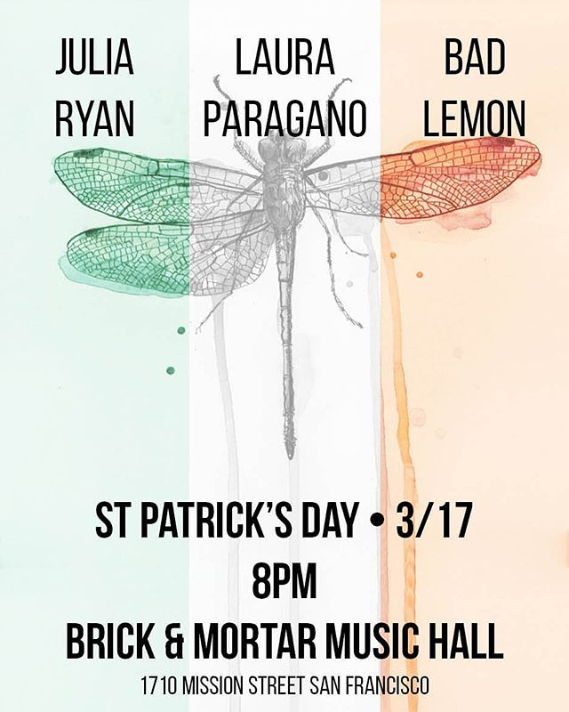 rock show alert: brick & mortar: st patrick's day: be there or be square