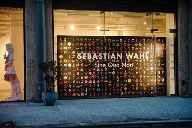 @sebastianwahl opening at @allouchegallery last week