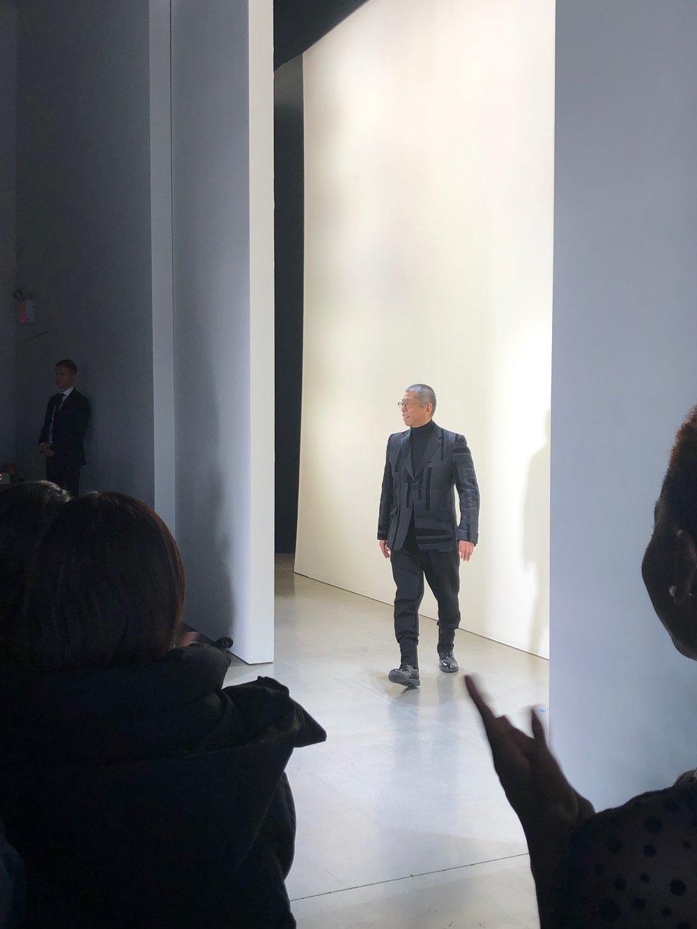 Tadashi Shoji - Pictured is Tadashi Shoji at the Tadashi Shoji Show on February 7th, 2019