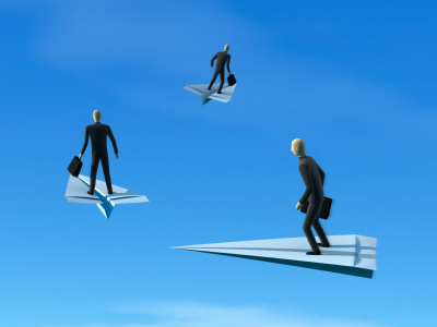 Flying Businessmen