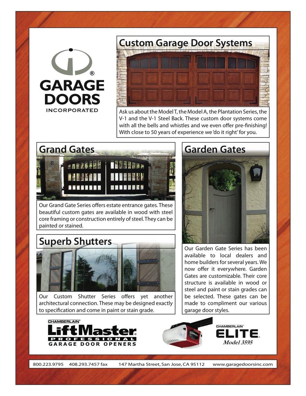 Scott Jensen- CEO Garage Doors Inc. .garagedoorsinc.com 800.223.9795  sc 1 st  Kapowich Real Estate & Time to Upgrade that Old Garage Door? Garage Doors Incorporated will ...