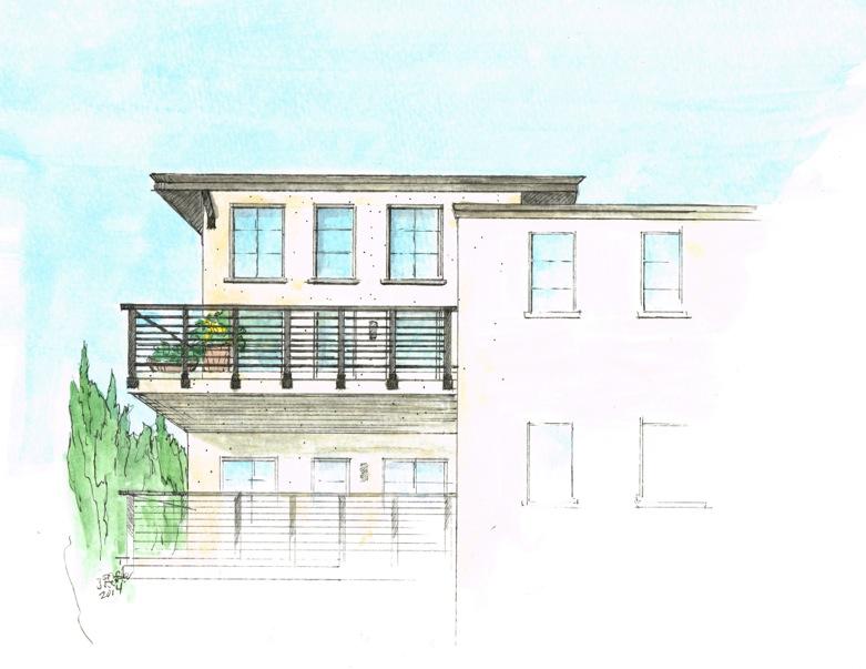 800 8th St - Artist rendering