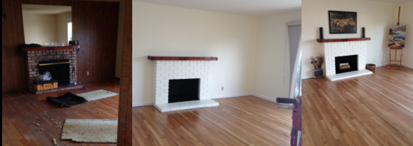 The Forgotten Fireplace enhances Kapowioh Listings