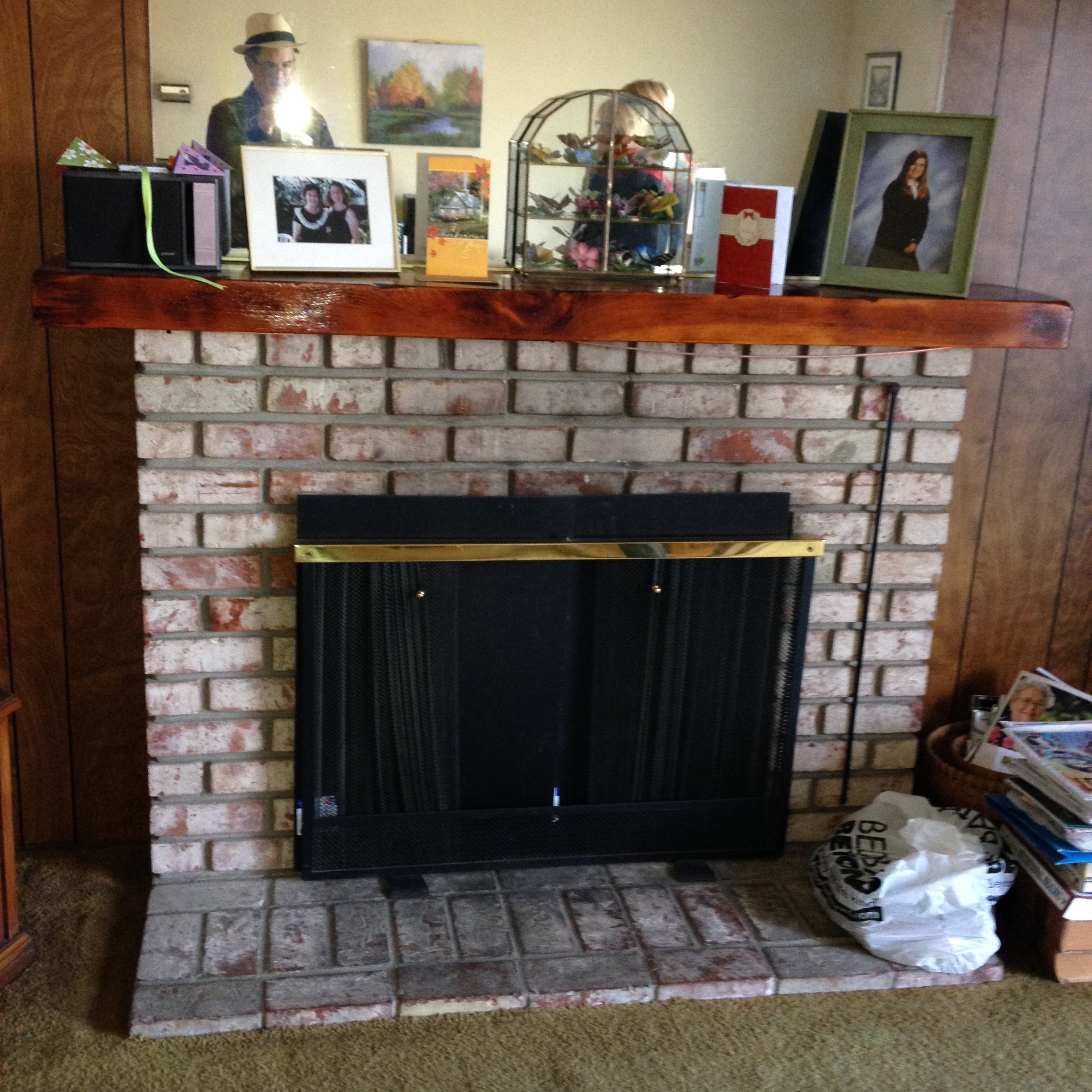 Before Silicon Valley Realtor Pat Kapowich's Transformation of Listing Fireplace