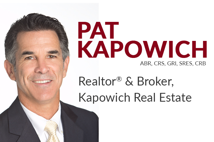 Pat Kapowich has over 30 years of real estate experience in Silicon Valley as a broker, agent, and broker-manager. He is a regular contributor for the San Jose Mercury News MarketWise column, and has been featured in The Wall Street Journal & The California Association of REALTORS® magazine.