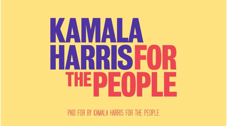 Sen. Kamala Harris' 2020 Presidential campaign branding