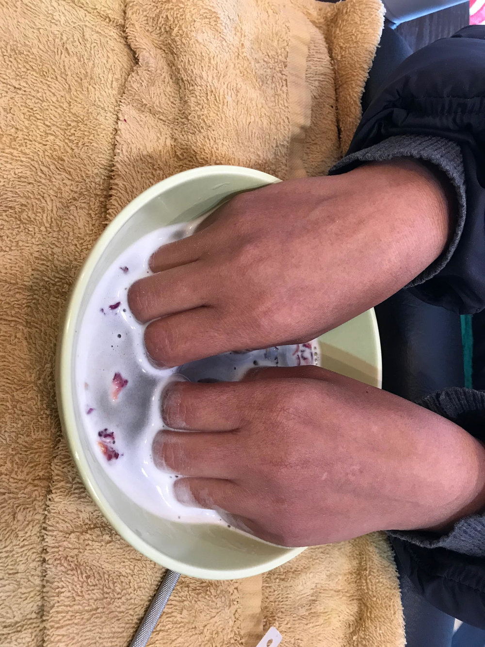 Milk & Honey Manicure