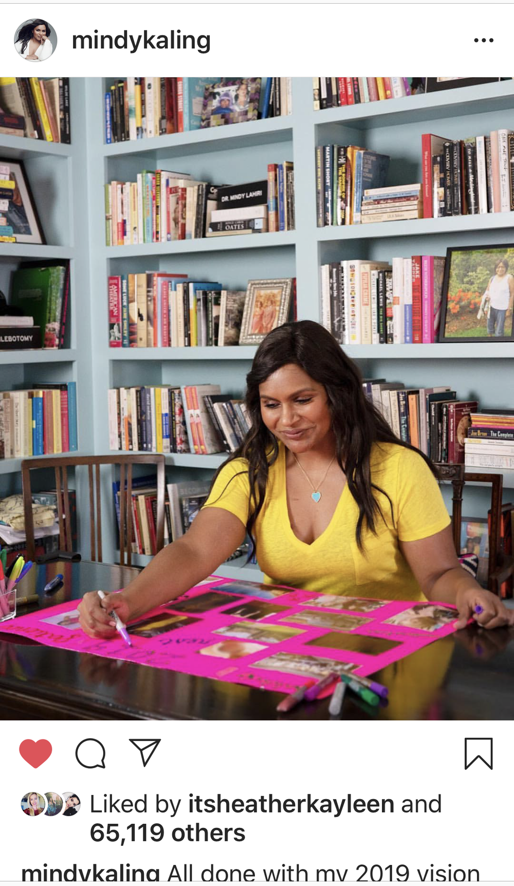 Creative Direction/ Social Media/ Photography with Mossy Creative for Mindy Kaling