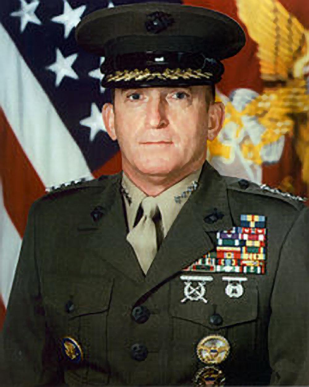 General Charles C. Krulak Commandant USMC (ret)