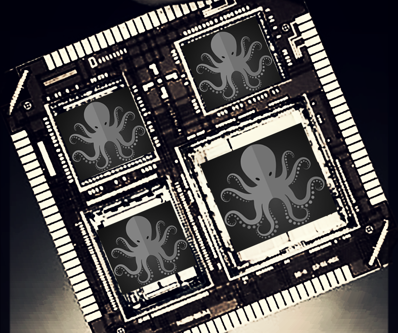 "QAI SPECTRE™ GaAs/GaN 3 THz super Turing ""Brain Chip"" Multi-Chip Module Has Several Layers."