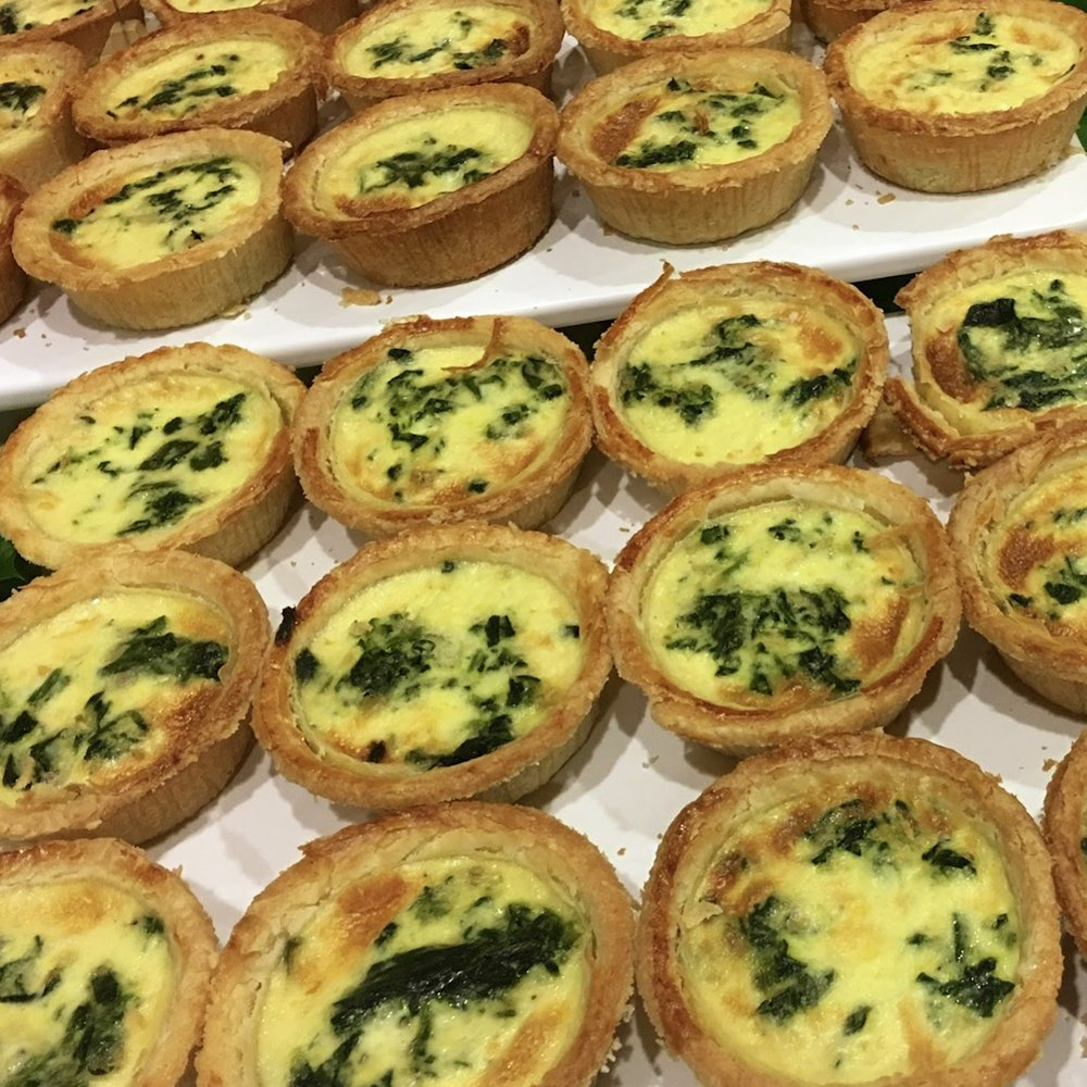 Assorted Palate Go Quiche