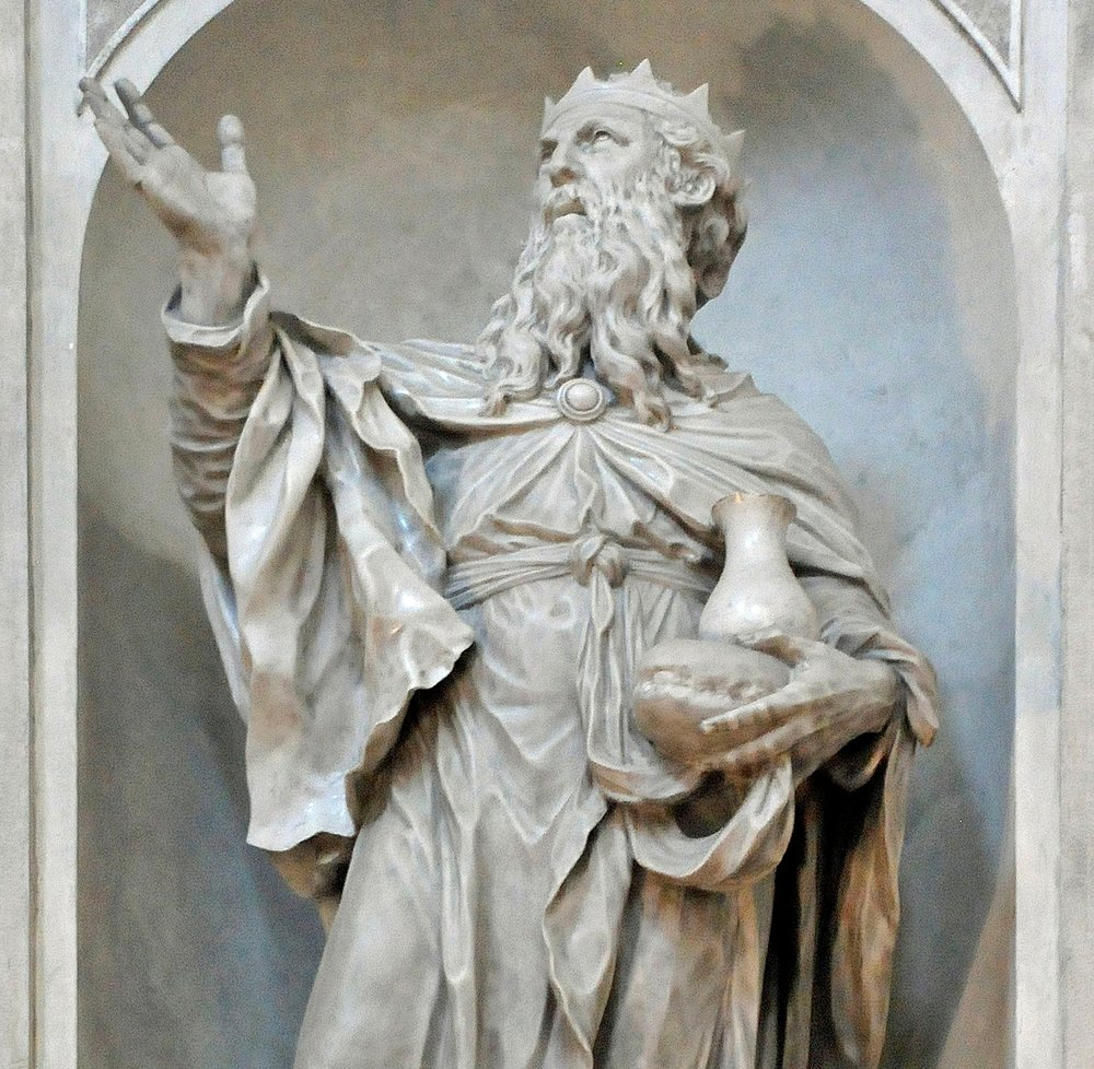 Melchizedek, Cathedral of Venice from sculptor Giovanni Maria Morlaiter, photographed par Wolfgang Moroder