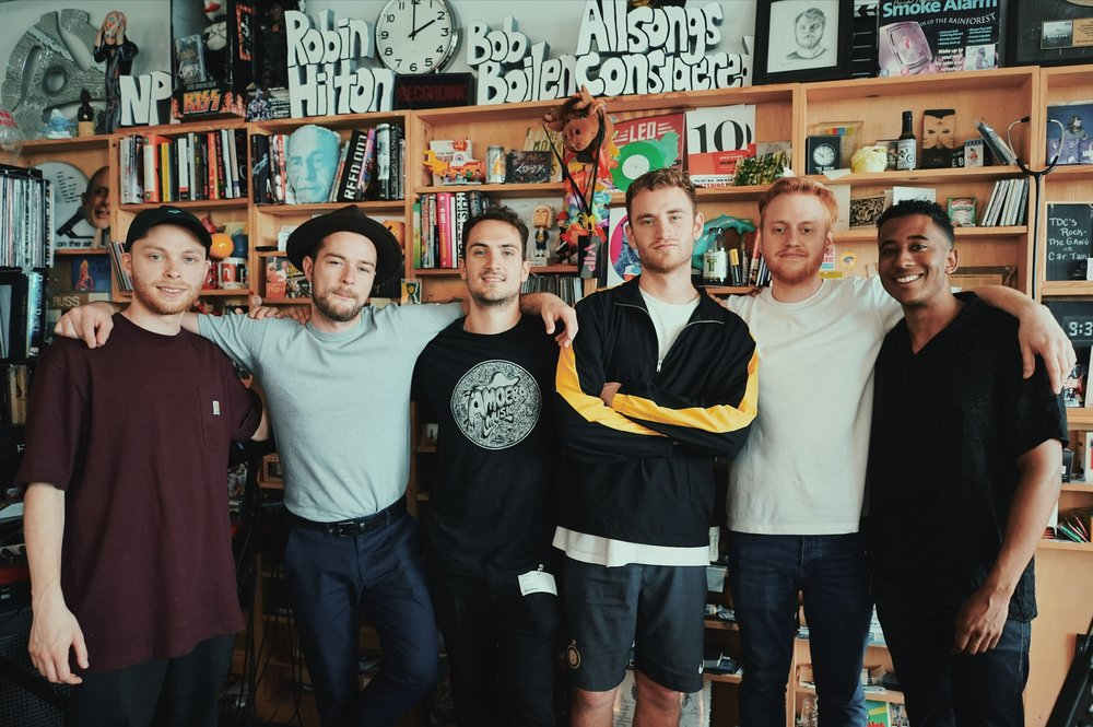 Tiny Desk with Tom Misch 1.JPG
