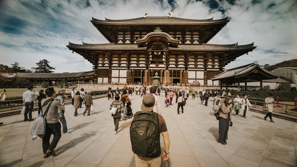 The front area of Tōdai-ji