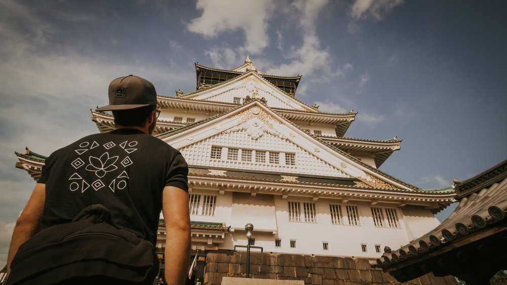 Humbled at the size of Osaka Castle