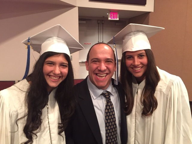 JB with his daughters Rena and Kayla