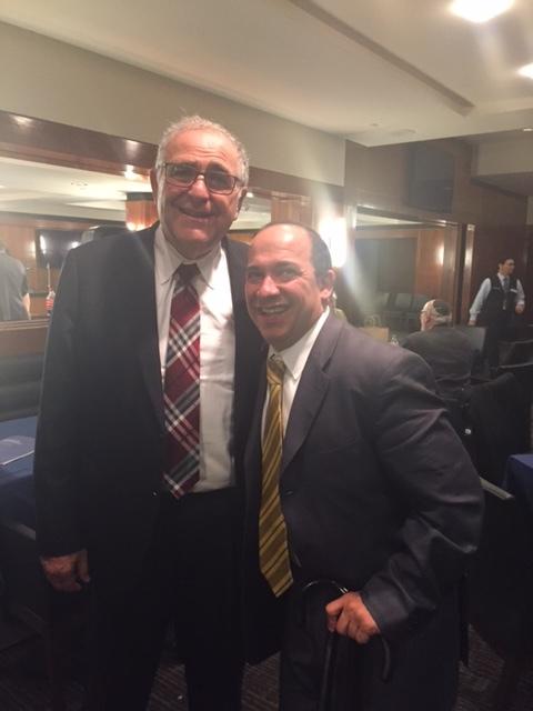 JB & Yeshiva U. President Richard Joel