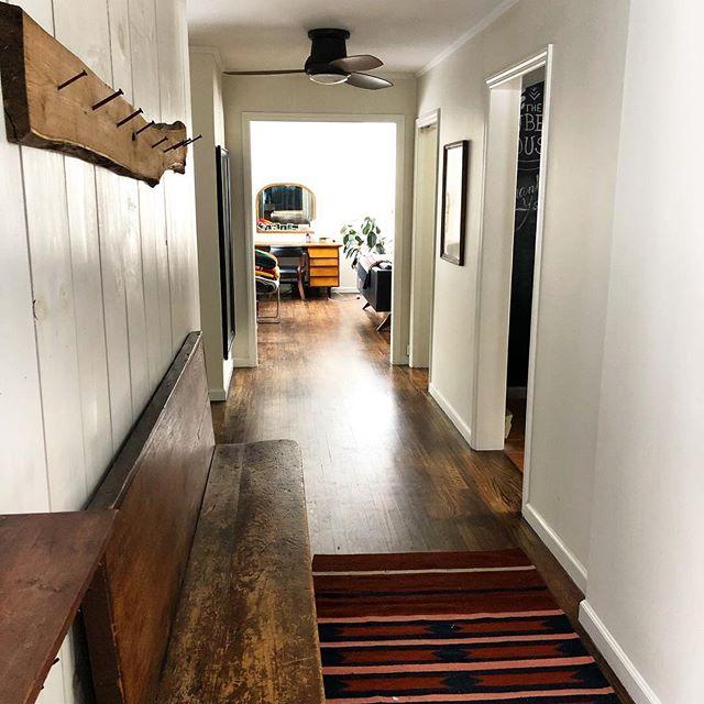 Latest addition to the house : rug by @the_citizenry - #thehuberthouse #jeffersonvilleny #sullivancatskills #sullivancounty #upstateny #wintercabin