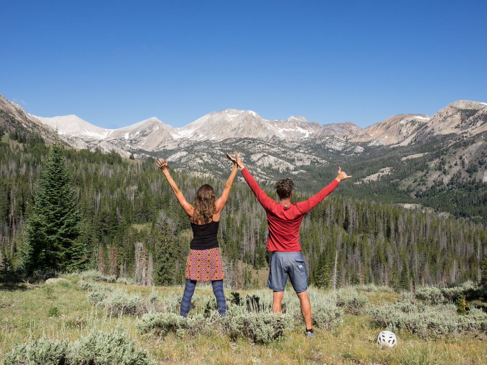 Strong partnerships usually lead to great results-- White Clouds Wilderness, Idaho