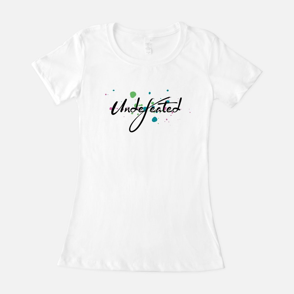 Shirt option 2: For Metavivors - There's no better word to describe women affected by metastatic breast cancer. Bring awareness to the cause with ink splatter in the signature metavivor colors.