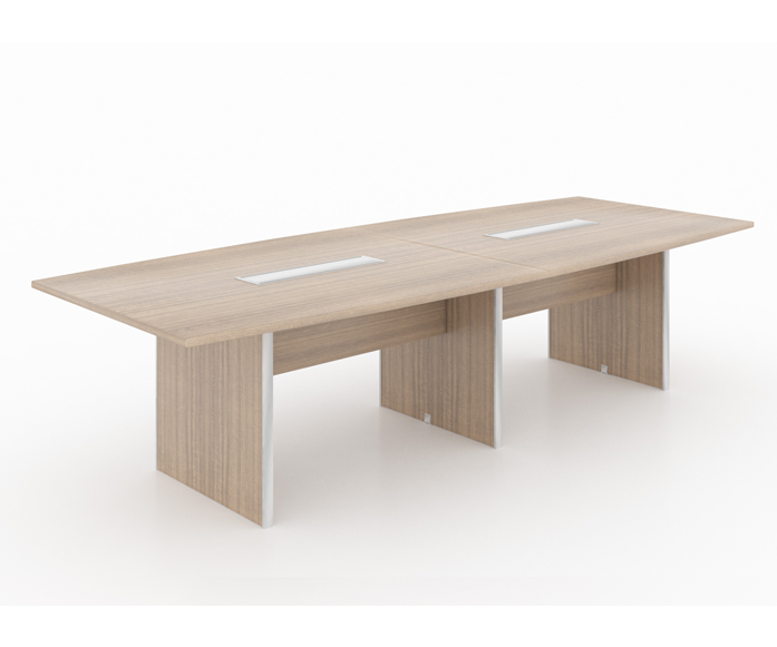"""Potenza Deluxe Conference table 10' Feet (for 8 People) - Size: 120'' L x 42''/ 48"""" W x 29"""" HList Price: $1,465