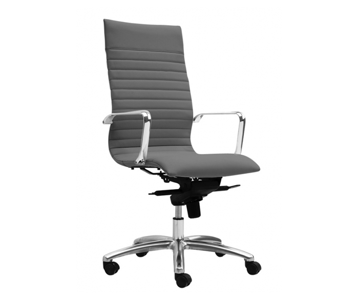 Zetti high back Executive chair /   10 year warranty    LIST PRICE: $ 525   SPECIAL PRICE $ 309 ( NO TAX INCLUDED )