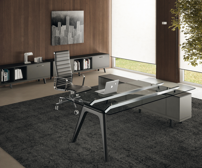 Rail Collection/ Functionality, style, color & prestige. - Your smart Italian office. Design Perin & Topan Starting at: $ 3,849