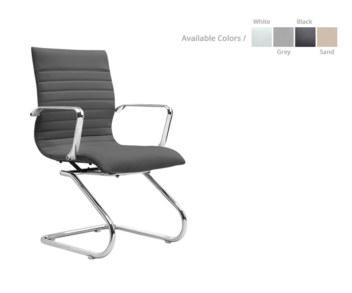 Zetti Mid-back/ guest executive chair - List Price: $ 450 | Special price: $ 269 *(No Tax Included)
