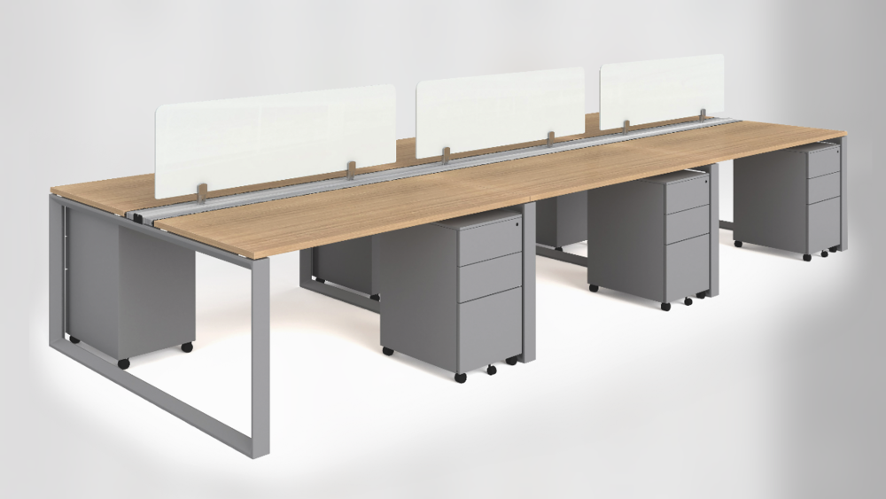 Workstation DesksAvailable in different configurations & sizes. - Starting at: $ 768 (Workstation for 2 people) *(No Tax Included)