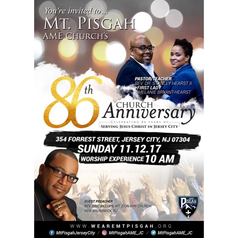 anniversary ad mt pisgah a m e church