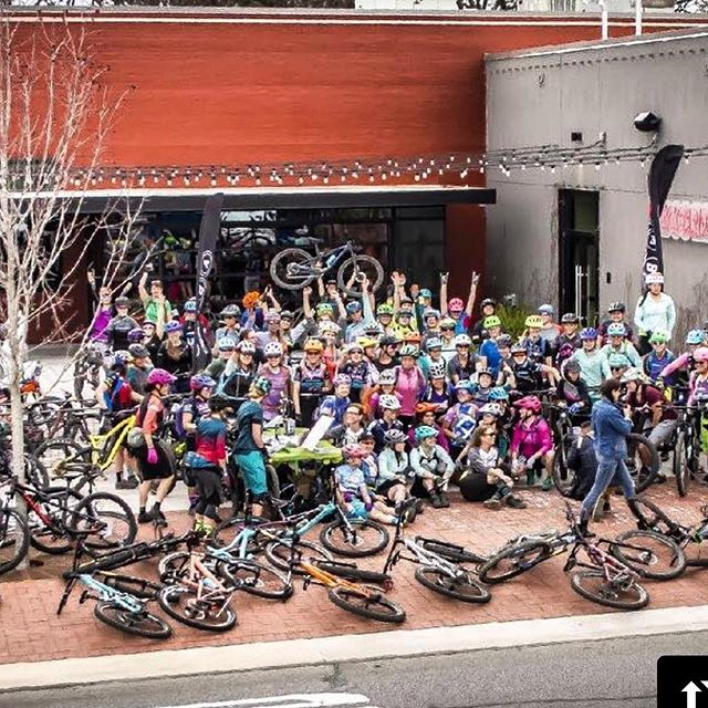 Women rising together!  Awesome turnout !!!! @imba_us with @get_repost ・・・ THANK YOU to everyone who came to IMBA UPRISING, our first-ever women's event. ~140 of you showed up, spoke out, shared ideas, learned from leaders in the bike world and took major steps toward getting more women into mountain biking and making our communities more MTB-friendly. It was an awesome and inspiring three days in @visitbentonville, a model trail community (and IMBA Ride Center). Photo 📸 @bstreks