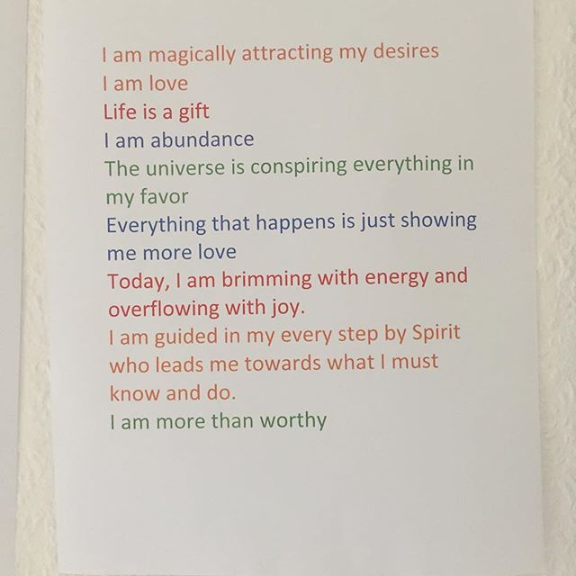 Creating affirmations and repeating them on a daily basis can be one of the most powerful ways to help you change your mood, state of mind and to manifest the change you desire b your life.  #mediate #releasehealmanifest #peace #stillness #truth #meditation #spiritual #inspire #calm #zen #yoga #uplifting #life #nature #love #mind #body #spirit  What are you affirmations ? X
