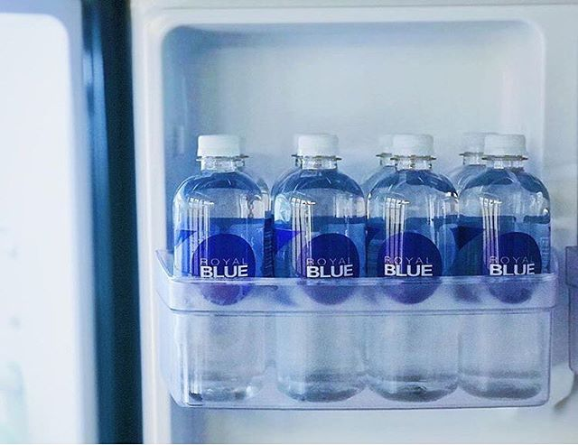 Thank you @_r.s.j_ for your support 💙, drink ROYAL | BLUE spring water 💧get yours today at elitedrinks.com 😃